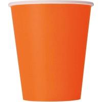 Pumpkin Orange 9oz. Cups 14 CT.