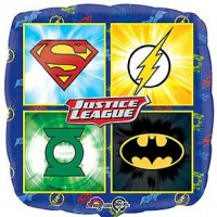 "Justice League Emblems 18"" Foil Balloon"