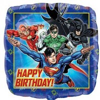 "Justice League Happy Birthday - 18"" Foil Balloon"