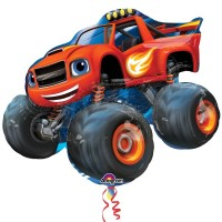 "Blaze & The Monster Machines Shape 34"" x 28"""