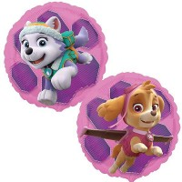 "Paw Patrol Skye & Everest 18"" Foil Balloon"