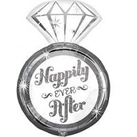 "Happily Ever After Ring - SuperShape  - 18""W x 27""H"