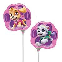 Paw Patrol Skye & Everest Mini Shape - Inflated With Cup & Stick