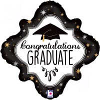 "Congratulations Graduate - 18"" Foil Balloon"