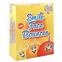 Ball Bouncer - Smile Face - 45cm 500g - 3 Astd Cols