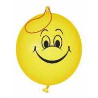 Smiley Face Punch Balloon (Counter Display Unit)