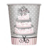 Elegant Wedding - 9 OZ. Cups