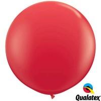 """Red 36"""" Standard (2CT) - Qualatex"""