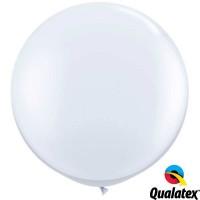 "White 36"" Standard (2CT) - Qualatex"