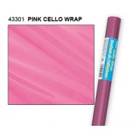 "Pink Cello Wrap Roll 30"" x 5ft."