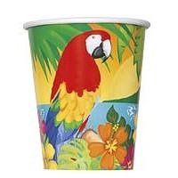9oz. Cup - Tropical Island Luau - 8ct. 12pk.