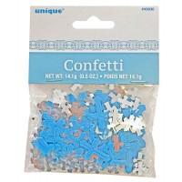 Communion Foil Confetti Blue 0.5oz - Radiant Cross