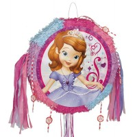 Disney Sofia The First Drum Pull Pop-Out Piñata