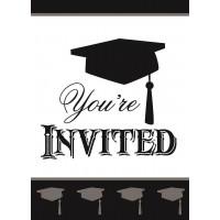 Simply Grad Invitations 8ct