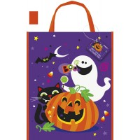 """Happy Halloween Party Tote Bag 15""""H x 12""""W"""