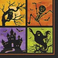 Luncheon Napkins - Halloween Haunted House 20CT.