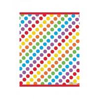 Rainbow Birthday Loot Bags 8CT
