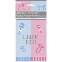 Gender Reveal Thank You Notes