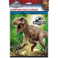 Jurassic World Loot Bags 8CT.