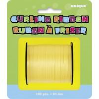 Yellow Curling Ribbon - 100yds