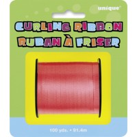 Red Curling Ribbon - 100yds