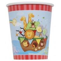9 Oz. Cups - Noah's Ark - Baby Shower 8 Ct. 12 Pk