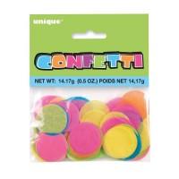"""1"""" Round Tissue Confetti  0.5oz"""