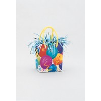 Giftbag Weight - Festive Balloons - (Box of 6)