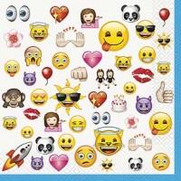 emoji Luncheon Napkins - 16ct.