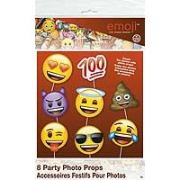 emoji Photo Prop Faces - 8ct. - 12PK.