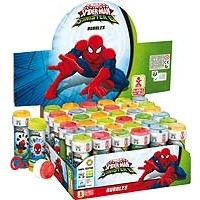 Bubble Tubs Spiderman 60ml - 36ct.
