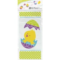 "Easter Cello Bags 11"" x 5"" 20ct"