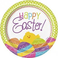 """Easter 7"""" Plate 8ct."""