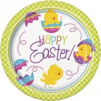 """Easter 9"""" Plate 8ct."""