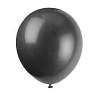 "5"" Latex Balloon - Jet Black - 72ct."