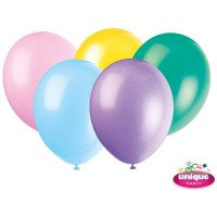 "12"" Pastel Assortment Premium-Quality (Bag of 50)"
