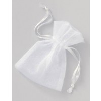Organza Pouches with Drawstring - Wedding Favours 4CT.