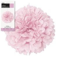 Puff Decor 16'' 1CT. Lovely Pink