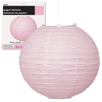 Paper Lanterns 10'' 1CT. Lovely Pink