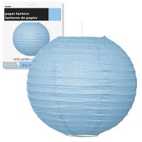 Paper Lanterns 10'' 1CT. Powder Blue