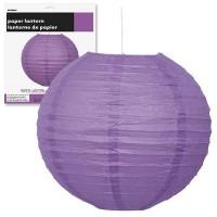 Paper Lanterns 10'' 1CT. Pretty Purple