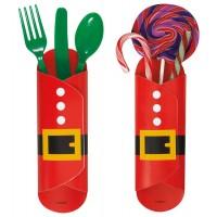 Ho Ho Ho Christmas Candy Wrappers 8CT