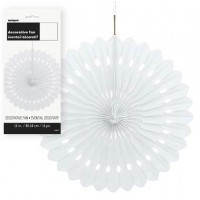 Decorative Fans 16'' 1CT. White