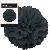 Puff Decor 16'' 1CT. Black