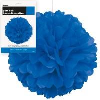 Puff Decor 16'' 1CT. Royal Blue