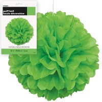 Puff Decor 16'' 1CT. Lime Green