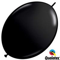 "Onyx Black 12"" Fashion Quick Link (50ct)"