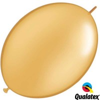 "Gold 12"" Metallic Quick Link (50ct)"
