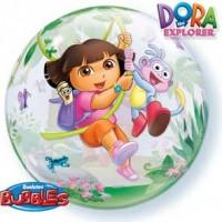 "Dora The Explorer & Boots 22"" Single Bubble"