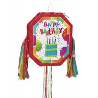 Birthday Jamboree Pull Pop-Out Piñata